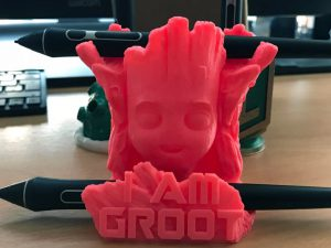 groot pen stand for 2 pens