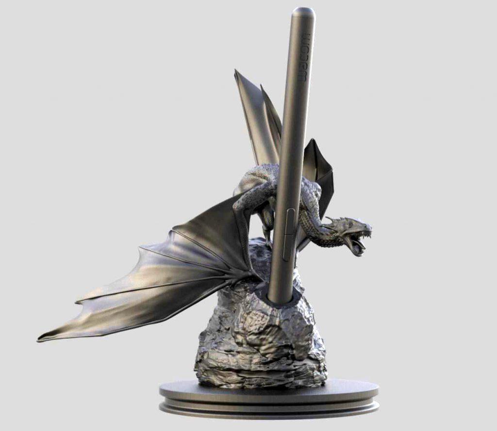 Dragon pen holder