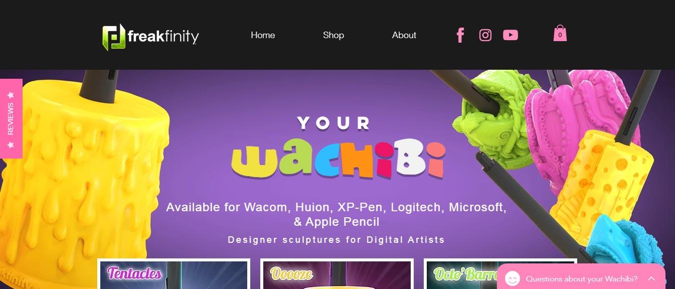 Wachibi website screenshot