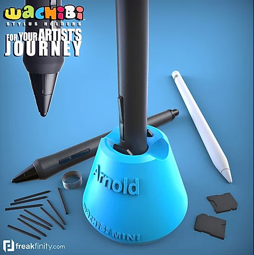 Mini Wachibi Pen Holder with name
