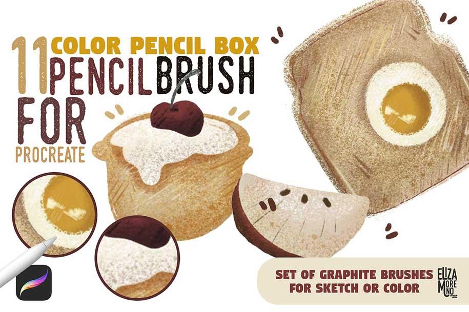 Color Pencil Box – Procreate set