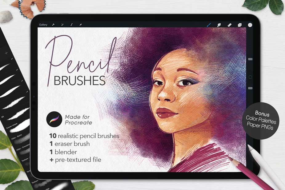 Ultimate Pencil Brushes For Procreate